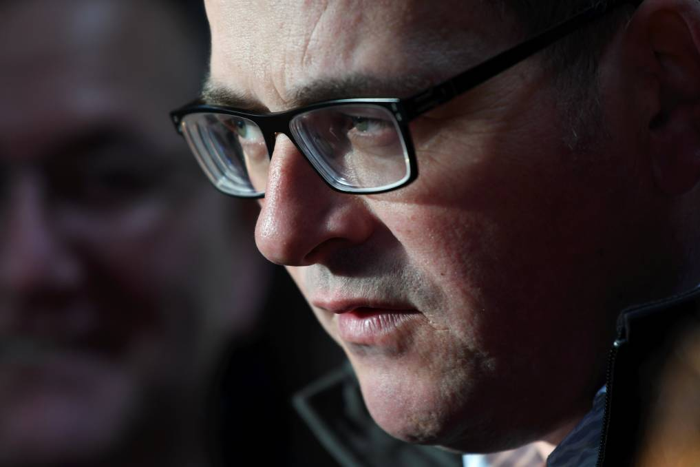 Premier Daniel Andrews has announced a re-entry to lockdown in some parts of Victoria.