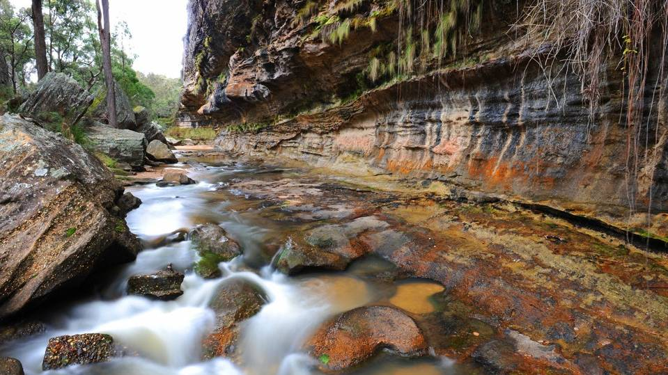 Some are concerned nearby mining could harm the iconic Drip Gorge. Photo supplied by the Mudgee District Environment Group.
