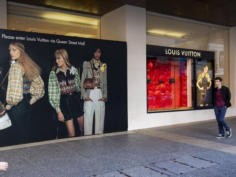 A man has been jailed for his role in a ram raid on Brisbane's Louis Vuitton store.
