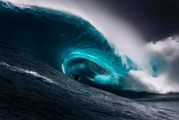 Last years winning Nikon Surf Photo of the Year, The Right, captured by Ren McGann.